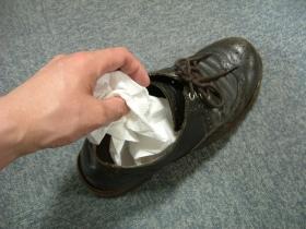 靴の防カビ
