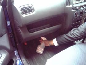 車のエアコンの消臭