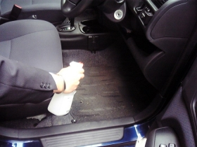 車のマットの消臭