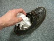 革靴の消臭